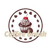 Coffee break logo concept