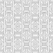Seamless geometric abstract wallpaper.