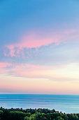 "Summer  Beautiful sky  background. Panorama. Bright sky""n"
