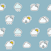 Weather background 01-04