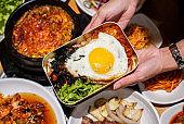 Korean rice box.