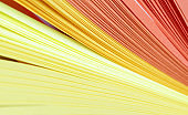 Yellow color strip paper.  Abstract Background.