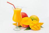Mango juice composition