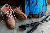 Tools and equipment for a hiker