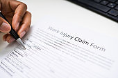 African American Filling Worker Compensation