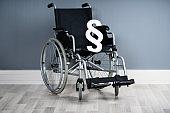 Paragraph Symbol On Wheelchair
