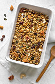 Roasted Granola with  nuts