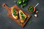 Grilled Chicken Steak with Chimichurri Sauce