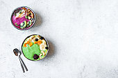 Colorful Smoothie Bowls