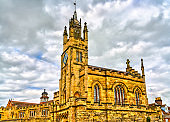 East Gate and St Peter Chapel in Warwick, England