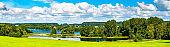 Lake at Castle Howard near York, England