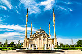 The Heart of Chechnya Mosque in Grozny, Russia