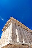 Maison Carree Roman temple in Nimes, France