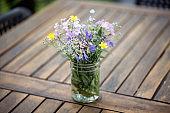 Bouquet of wild flowers