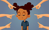 African Girl Facing Discrimination and Bullying