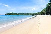 Clean beach on Phuket island in south of Thailand