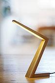 Modern wooden lamp design