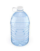 5L plastic bottle water with white cap
