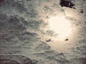 Dark clouds and sky landscape