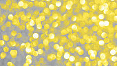 Yellow and grey color background. Thendy bokeh