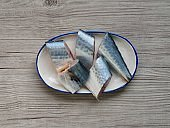 Korean fresh seafood mackerel, fish