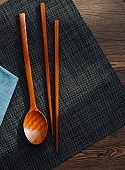 Korean tradition Wooden spoon, chopsticks