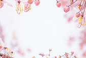 flower in nature background