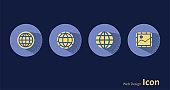 Planet Earth,Globe - Navigational Equipment,Photographic,icon.set.