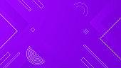 Background violet geometric . Elegant graphic geometric violet background square circle dot line digital vibrant.
