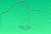 green background with black contour lines