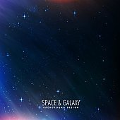 abstract colorful beautiful universe stars galaxy background