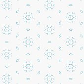 abstract colorful seamless geometric shapes pattern background