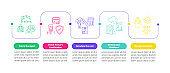 Psychiatric help-seeking vector infographic template