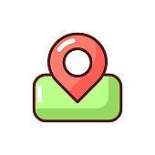 Maps app RGB color icon
