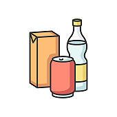 Beverage RGB color icon