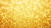 Golden glittering background