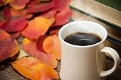 November 10. 2019. Republic of Korea. Autumn and coffee