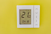 Electronic thermostat at home