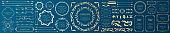 Royal monogram frame. Hand drawn crown emblem, vintage doodle sketch sign and elegant monograms.