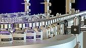 Coronavirus vaccines on the production line