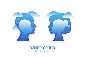 Psychology logo concept