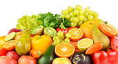 Composition with healthy fruits and vegetables