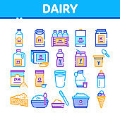 Dairy Drink And Food icon