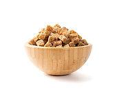 Homemade Rye Bread Croutons, Crispy Bread Cubes, Dry Rye Crumbs