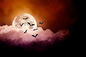 Spooky Halloween Sky