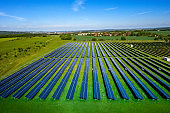 Solar energy panel photovoltaic cells