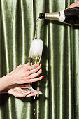 Prosecco at a party