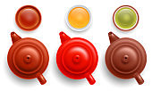 Chinese Tea Pot And Cup Set