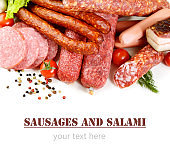 sausages and smoked meat products