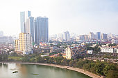 Hanoi buildings and cityscape